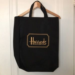 Harrods of London shopping tote bag